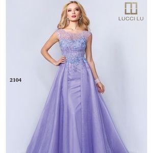 Lucci Lu 2104 Violet size 14